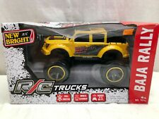 NEW BRIGHT R/C TRUCKS BAJA RALLY