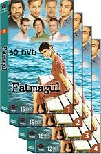 FATMAGUL (Fatmagül) - COMPLETE TURKISH GREEK TV SERIES - 60 DVD - 4 HUGE BOXES