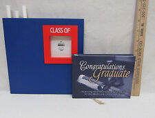 Chalk Board Photo Picture Frame Blue Red Graduate Inspiring Quotes Stories Book