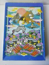 "Danish puzzle by the artist Bjorn Wiinblad. 1980's.500 pieces.""North"" NORD."