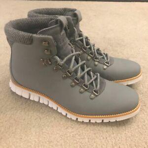 Cole Haan Men's 9M ZERØGRAND Hiker Boot Gray
