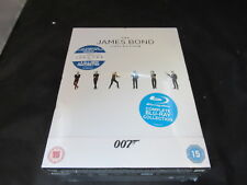 Blu Ray Boxset The James Bond Collection 1-23 Film Set New Damaged inc UV Code