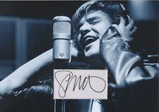 SIMON LE BON Signed 12x8 Photo Display DURAN DURAN COA