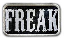Patch - Freak Heat Seal / Iron on Patch for jackets, shirts, tote bags, hats,