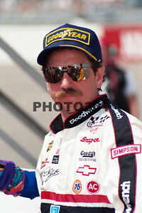 Dale Earnhardt Nascar Winston Cup Race Car Driver 8x10 Photo #NS1202-010