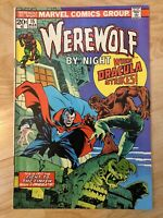 Werewolf By Night #15 Very Fine- 1972 Bronze Age Dracula Marvel Comics