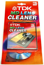 TDK MINI DISC LENS CLEANER - HIGH QUALITY CLEANING - WITH SOUND CHECK