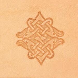 Ivan 3D Leather Stamp - Celtic Eagle (8607-00)