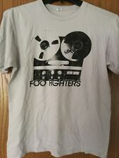 Foo Fighters.   Shirt.   White.   L