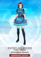 SWORD ART ONLINE ALICIZATION LYCORIS WARMAID OUTFIT DLC Xbox REGION FREE
