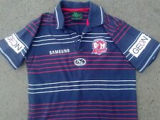 cute KIDS SIZE SYDNEY ROOSTERS NRL rugby league polo shirt