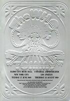 THE WHO 1989 TOMMY TOUR CONCERT PROGRAM BOOK-NEW YORK/L.A.--DALTREY--NM 2 MINT