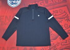 Descente ANTONIO Mens Zip Long Sleeve Pullover Black Outdoor Trekking Casual