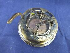 Gibert and Sons Reproduction Compass and Sundial in a Leather Case.
