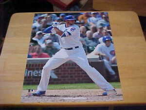 Kris Bryant Chicago Cubs Action LICENSED 11X14 Photo Includes Top Loader