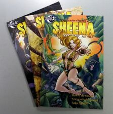 Moonstone SHEENA QUEEN OF THE JUNGLE (2014) #1 3 + VARIANT VF-NM Ships FREE!