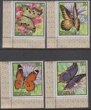 Burundi #252-55 MNH Butterflies top vals cv $47.25