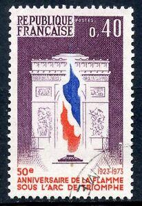 STAMP / TIMBRE FRANCE OBLITERE N° 1777 / 50° ANNIVERSAIRE DE LA FLAMME