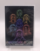 American Gods : Complete Season 3 (DVD Set) Brand New Region 1 Fast Shipping