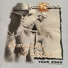 licensed Kenny Chesney t shirt-2005 Somewhere In The Sun Tour-looks Unused-(L)