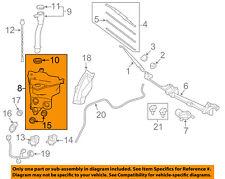 TOYOTA OEM FJ Cruiser Wiper Washer-Windshield Fluid-Reservoir Tank 8531535370