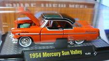 1954 Mercury Sun Valley Orange   1:64 Scale M2 Diecast