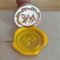 Customized personal sealing wax stamps for wedding gift collection