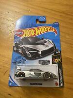 2020 Hot Wheels Walmart #18 Zamac #233 Nightburnerz 9/10 McLAREN SENNA Zamac