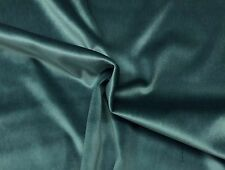 "BALLARD DESIGNS SIGNATURE VELVET SPA BLUE SOLID FURNITURE FABRIC BY YARD 56""W"