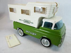 Vintage 1960s Nylint Trail Blazer RV camper Ford Econoline pick up truck