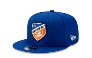 NEW ERA FC CINCINNATI SOCCER MLS SNAPBACK CAP 950 ROYAL BLUE ADJUSTABLE HAT NWT