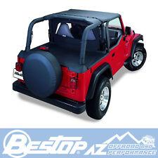Bestop Header Bikini 03-06 Jeep Wrangler TJ & Unlimited Black Diamond 52528-35