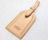 Authentic Louis Vuitton Leather Large Name Tag One Piece