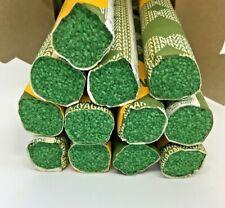 New listing Vintage Ryagarn Yarn 100%Wool Latch Hook Rug England Box of 20 Packs, Green #150