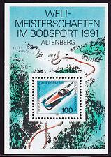 Bund Block 23 ** Weltmeisterschaften im Bobsport, Altenberg