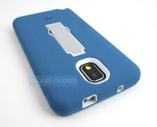 TEAL WHITE GREY V2 IMPACT CASE COVER KICKSTAND FOR SAMSUNG GALAXY NOTE