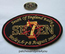 Harley Davidson HOG Bisley SOFER 2010 Patch & Pin NEW!! FREE U.K. POSTAGE!