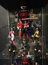 S. H. Figuarts Samurai Power Rangers Shinken Gold Blue Yellow Green Pink Bandai