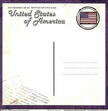 Scrapbook Customs - Vintage Usa Postcard Scrapbooking Paper - 36314