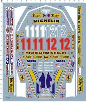 1/12 Scale F1 Ferrari 312T4 Gilles Villeneuve 312T Model Kit Water Slide Decal