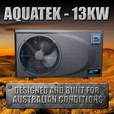 8.7/13KW Swimming Pool/Spa Heat Pump - COP 6 - Aquatek Eco Pool Solutions