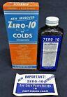 VINTAGE NOS ZERO-10 LIQUID COLD MEDICINE DACUS DRUG CO STORE GLASS BOTTLE