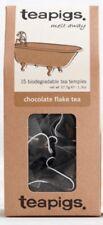 Chocolate Flake - Tea Pigs - 15 Biodegradable Tea Temples - Chocolate Flake