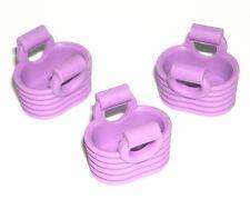 LEGO 3 Friends Baskets Minifigure Hand Bag Purse Lavender Purple 41108 71016