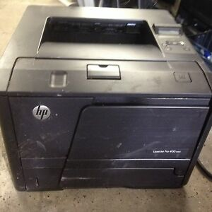 HP Laserjet Pro 400 M401n Workgroup Laser Printer with Toner 300 Page Count