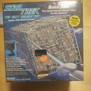 Star Trek Next Generation Borg Cube Ship Playmates Collectors Edition #035784
