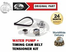 FOR ALFA ROMEO 156 2.4JTD 2000-2006 GATES TIMING CAM BELT KIT + WATER PUMP SET