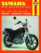 HAYNES SERVICE REPAIR MANUAL YAMAHA XS400 H SPECIAL II & SH HERITAGE 1980-1981