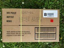 US MRE Karton B, Insp.Date 10/23, EPA Verpflegung, Army Notration, Ready to eat