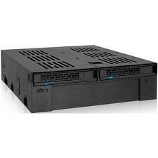 """Icy Dock Mb322sp-b 2-Bay 2.5"""" SAS/SATA Mobile Rack"""